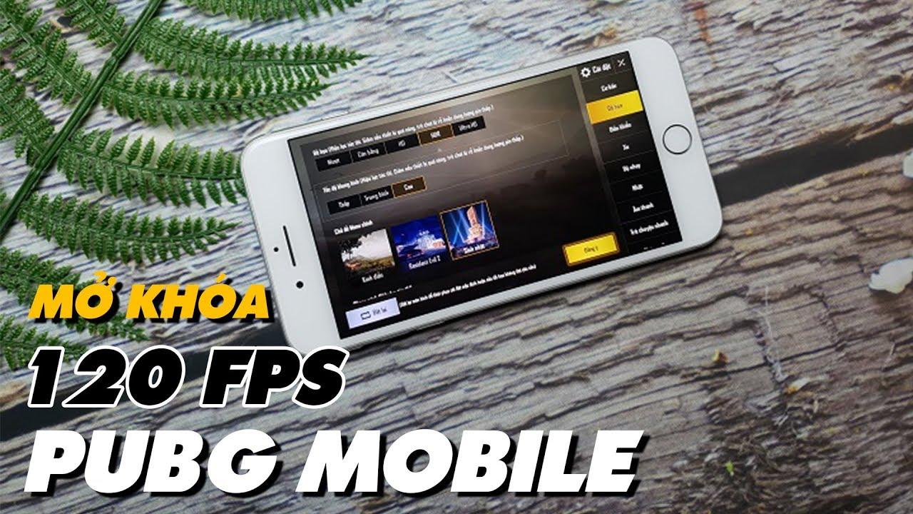 Mẹo CHƠI GAME  PUBG MOBILE 120 FPS SIÊU MƯỢT Trên Mọi iOS (iPhone/iPad) | Truesmart