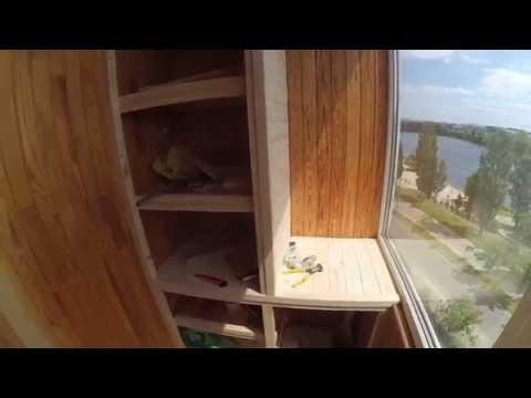 Полуторный шкаф на балкон..