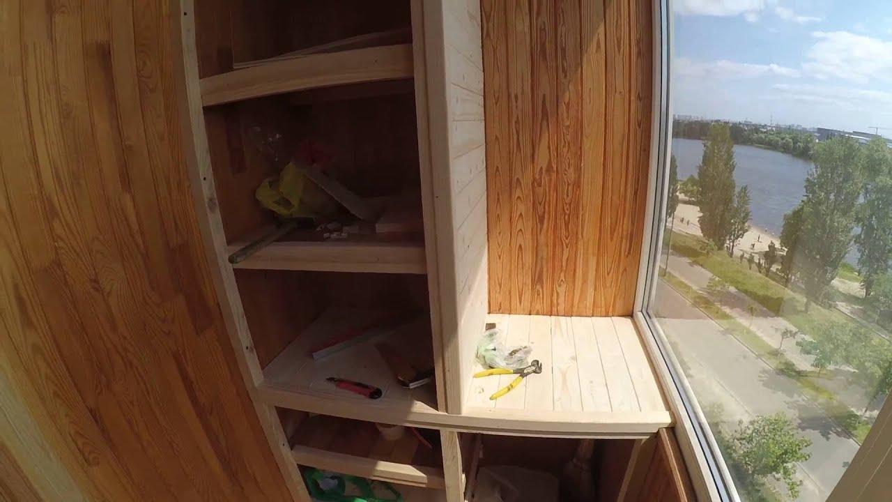 Шкаф на балконе: как его красиво сделать?.