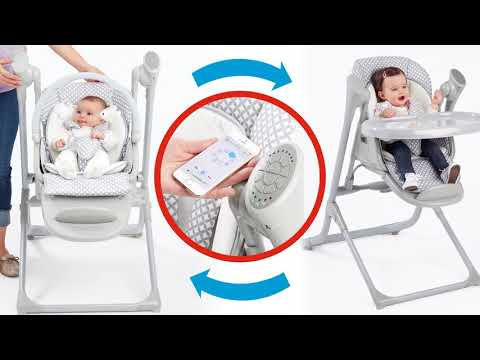 PRIMO - 2-in-1 Smart Voyager, Infant Swing And High Chair