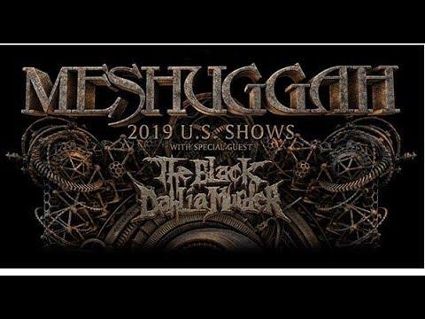 Meshuggah announce spring tour in May w/ The Black Dahlia Murder
