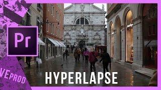 Tutorial completo HYPERLAPSE con Premiere pro | ITA