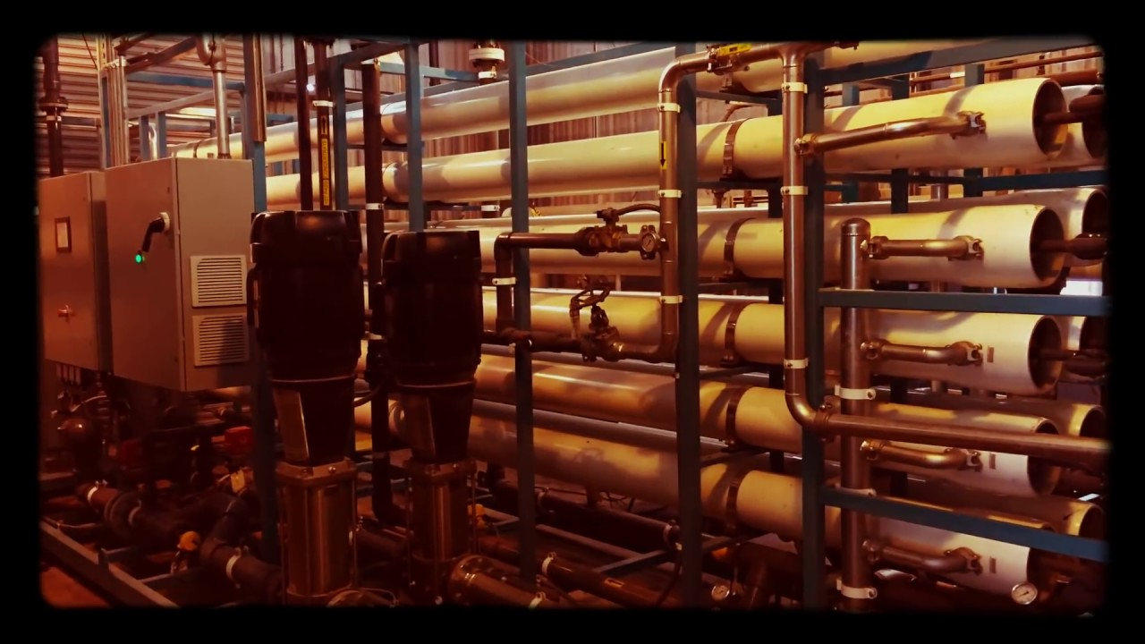 Water purification industrial services youtube for Industrial design services