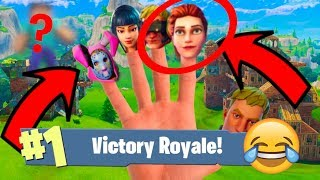 FORTNITE BATTLE ROYALE FINGER FAMILY DANCE Nursery Rhyme For Kids 1080p HD! Fun Kids TV!