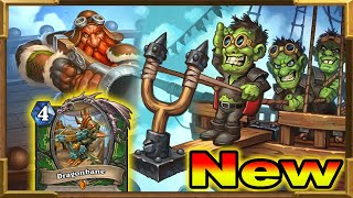 Hearthstone: Brand New Hunter Deck With Dragonbane and Sidequests | Descent of Dragons New Decks