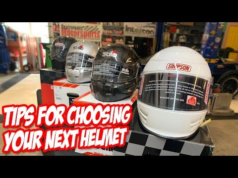 How To Choose A Racing Helmet