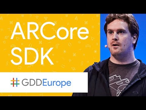 Introducing ARCore: Augmented Reality at Android Scale (GDD Europe
