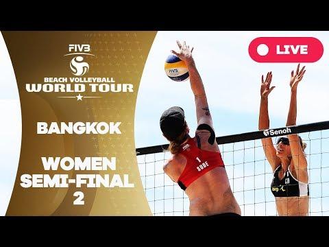 Bangkok - 2018 FIVB Beach Volleyball World Tour – Women Semi Final 2