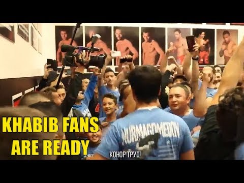 Crazy Khabib Fans Ready To Attack Conor Mcgregor During Second Press Conference