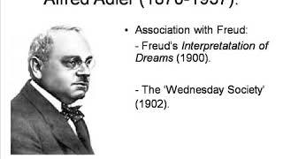 Alfred Adler - Bireysel Psikoloji