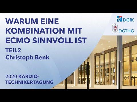 Warum eine Kombination mit ECMO sinnvoll ist | Prof. Christoph Benk, Freiburg