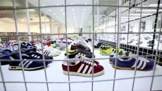 scotts adidas Vintage Exhibition in Manchester