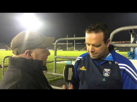 13 January 2016 McKenna Cup v Monaghan Selector Padraig Dolan post match interview