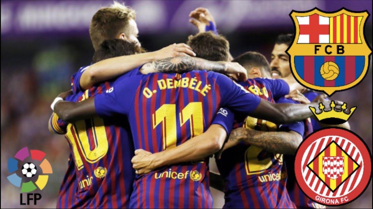 Barcelona vs Girona, La Liga - MATCH PREVIEW - YouTube