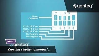 Furnace Motor How-To: Genteq X13 Motor Connections - YouTube   X13 Ecm Motor Wiring Diagram      YouTube