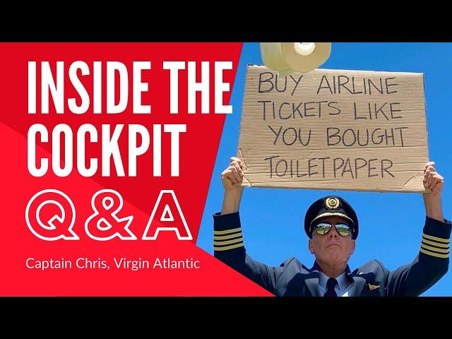 EXCLUSIVE Q&A WITH CAPTAIN CHRIS | Virgin Atlantic Training Captain | A350 | Inside The Cockpit