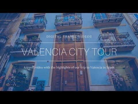 Travel Video Valencia City Tour
