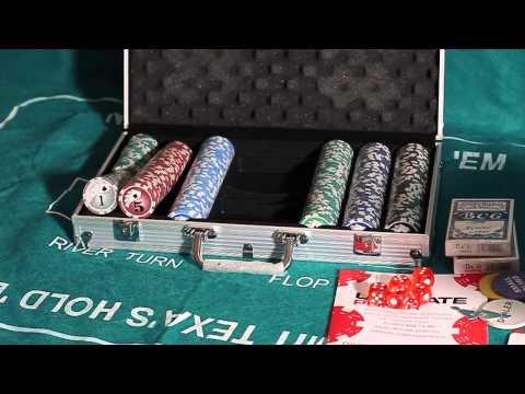 Обзор покерного набора Royal Flush Pro на 300 фишек