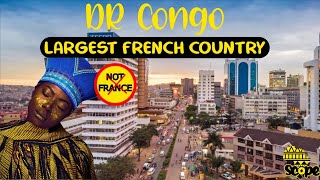 Discover DR Congo, Largest French speaking country