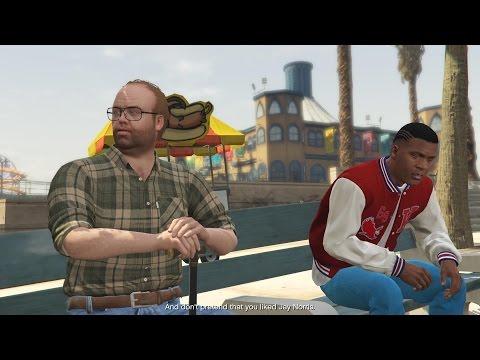 Grand Theft Auto V Végigjátszás/28 rész-Nincs többé gettó,irány Vinewood Hills,Franklin
