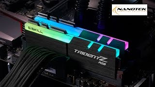 g skill trident z rgb ram now available in sri lanka