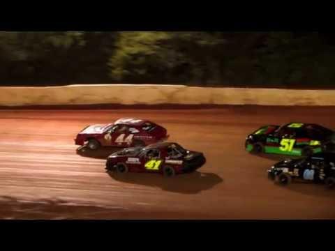 Mini Stocks at 411 Motor Speedway Aug  30 2014