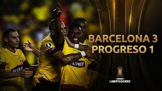 Barcelona vs. Progreso [3-1] | GOLES | Primera Ronda (Vuelta) | CONMEBOL Libertadores 2020