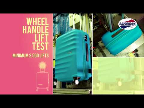 American Tourister Quality Test Video