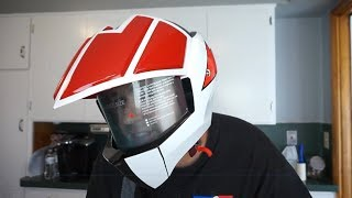 Thanks for watching... Masei Robotech Macross Rick Hunter Veritech Motorcycle Helmet! Even though I don't have a motorcycle, I had to have this replica ...