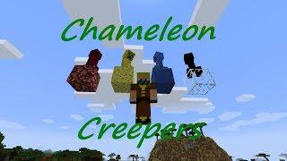 Rengarenk Creeperlar! | Mod Öğretimi | Bölüm 2 | Chameleon Creepers Video
