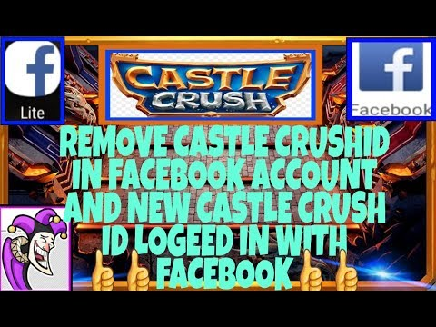 How To Remove Castle Crush Account From Facebook In-Castle Crush