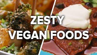 4 Zesty Vegan Meals