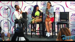 ESSENCE FEST: Lil' Kim drops some details about her new show