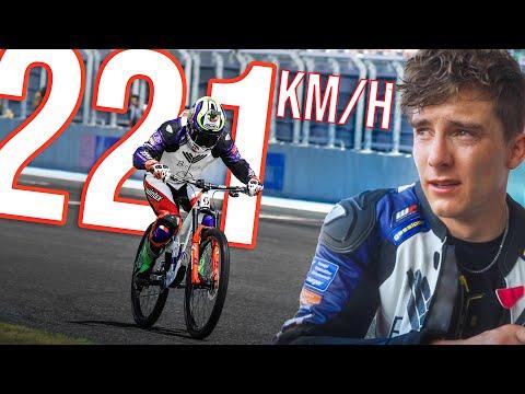 221km/h on a Bicycle! thumbnail