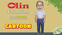 Funny Cartoon - Olin Plumbing Commercial Cartoon - Tampa Plumber