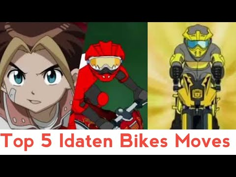 Top 5 Idaten Bikes Moves Of All Time ( Hindi )