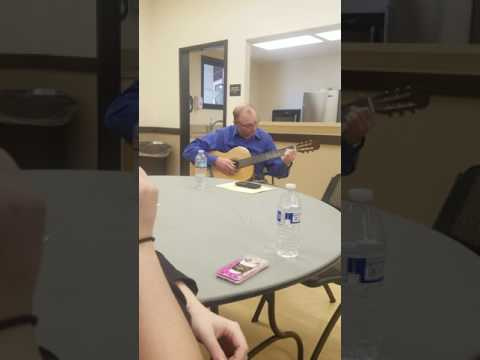 David Powell Playing Guitar