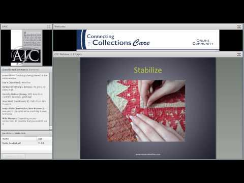 C2CC Practical Solutions: Quilt Care and Display