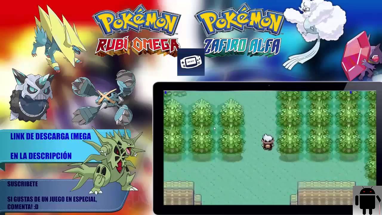 descargar pokemon zafiro alfa en espanol para android