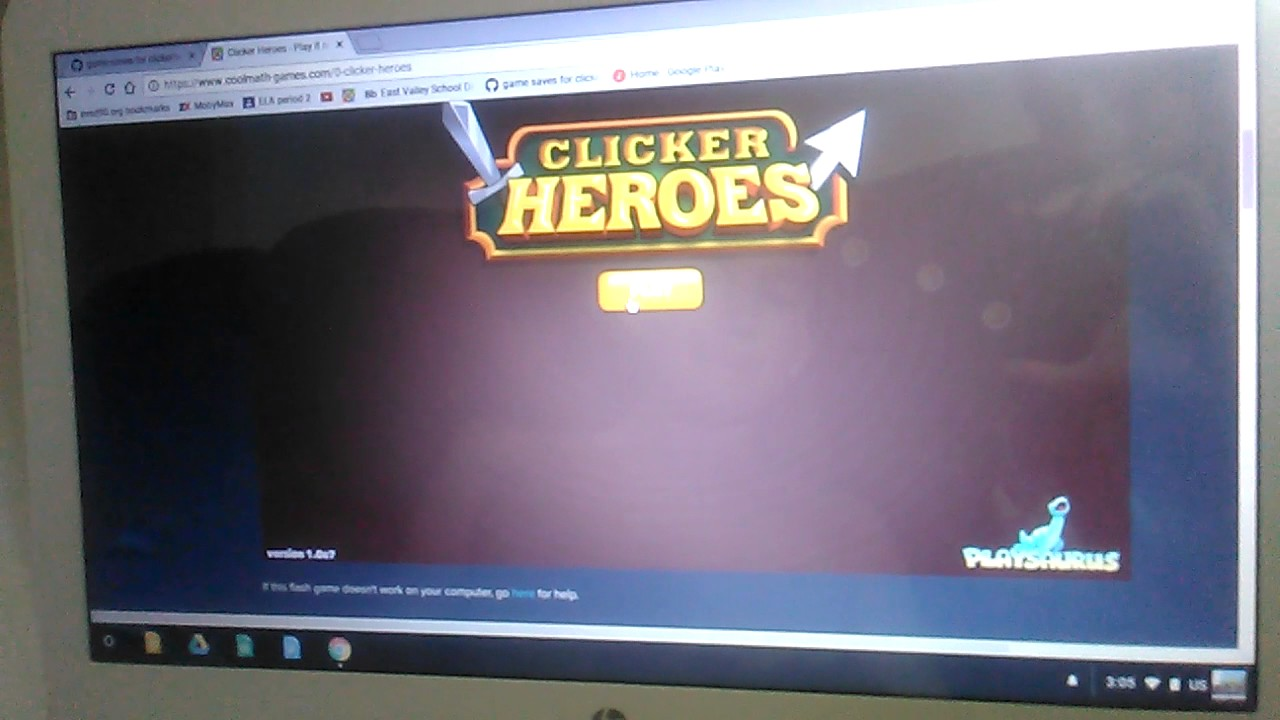 Game cheat instructions for clicker heroes on coolmath games!!