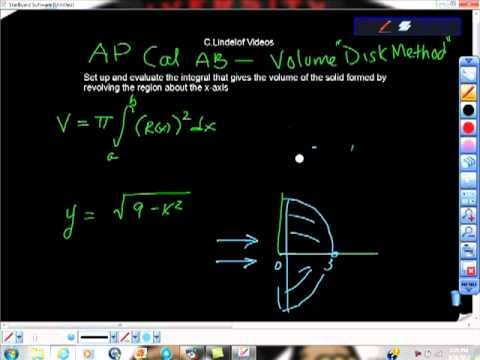 Ap calculus ab volume the disk method youtube ap calculus ab volume the disk method publicscrutiny Choice Image