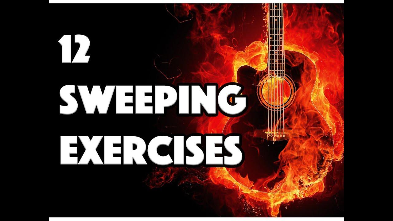 12 EXERCICES DE SWEEPING - LE GUITAR VLOG 018