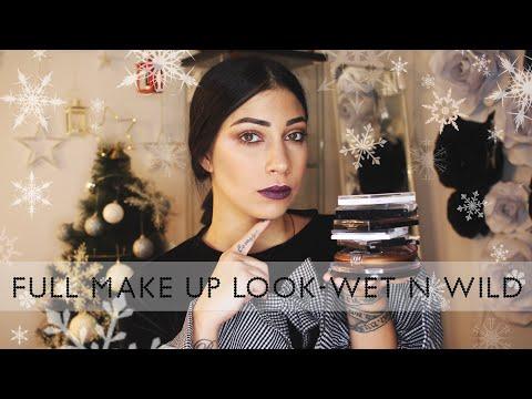 Full make up look - Wet N Wild proizvodima