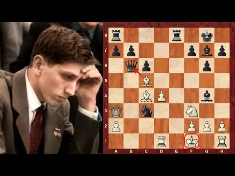 "Bobby Fischer's most outrageous chess game! - The ""Game of the Century""!"