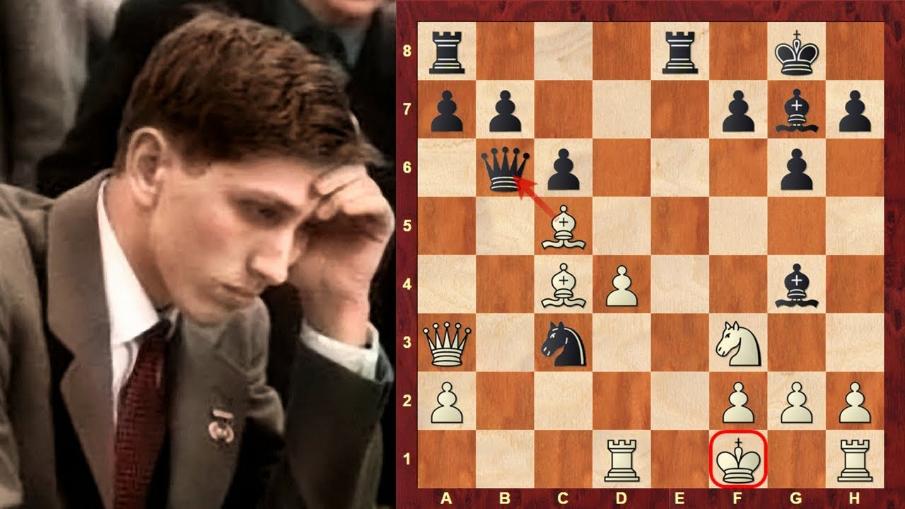 "Bobby Fischer's most outrageous chess game! - The ""Game of"