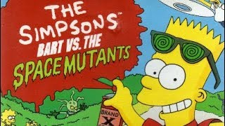 [NES/FC]  The Simpsons: Bart vs. the Space Mutants. All stage. FC 辛普森家族 通关
