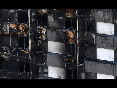 Breaking  News - London Building fire 12 people died