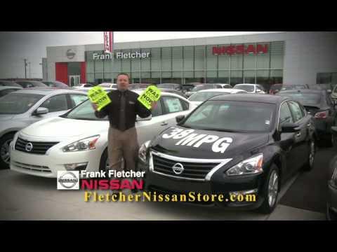 Frank Fletcher Nissan GREEN TAG PRICING!