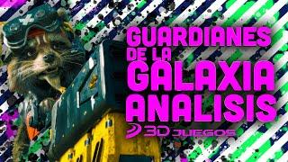 GUARDIANES DE LA GALAXIA ANÁLISIS: ¿Es el MEJOR JUEGO de MARVEL hasta ahora? VIDEOREVIEW