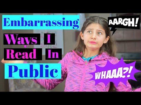 Embarrassing Ways I Read In Public